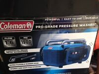 coleman pressure washer for sale
