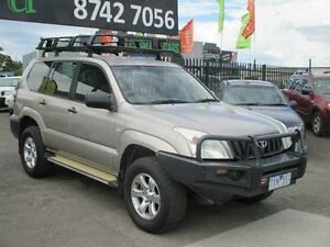 2004 Toyota Landcruiser Prado GRJ120R GXL (4x4) Gold 5 Speed Manual Wagon Hoppers Crossing Wyndham Area Preview