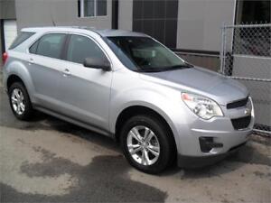 2012 Chevrolet Equinox AWD 4 cyl ECONO + GARANTIE 3 ans INCLUSE