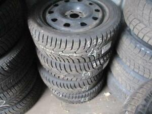 225/45 R17 HANCOOK I*PIKE ON DODGE DART STEEL RIMS WINTER TIRES USED SNOW TIRES (SET OF 4) - APPROX. 90% TREAD