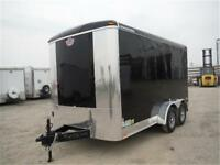 7x14 Enclosed Trailer - 9,800 lb. GVWR Finance Options Available