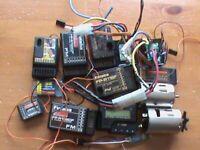 radio control electrical parts