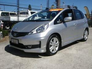 2013 Honda Jazz GE MY12 Update Vibe-S Silver 5 Speed Automatic Hatchback Wangara Wanneroo Area Preview