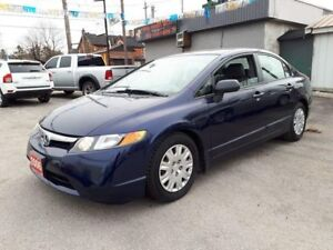 2006 Honda Civic Sdn DX-G..low kms!certified