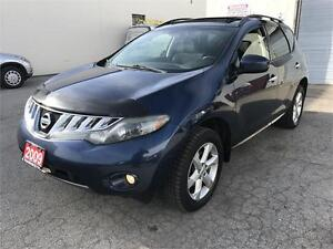 2009 NISSAN MURANO SL AWD PANORAMIC ROOF NO ACCIDENT,REAR CAMERA