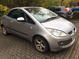 Mitsubishi Colt Convertible, good condition with receipts and service history