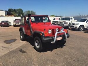2005 Jeep Wrangler TJ Sport (4x4) Red 3 Speed Automatic 4x4 Softtop Berrimah Darwin City Preview