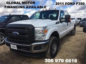 2011 FORD SUPER DUTY F-350 SRW XL - FINANCING AVAILABLE
