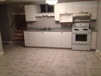 Basement apartment for rent in Shediac