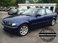 BMW 3 SERIES 2.0 318I SE 4d 141 BHP (blue) 2004