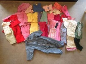 Baby clothes 12-24 months - girl's. 60 items