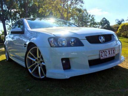 2006 Holden Commodore VE SS White 6 Speed Manual Sedan