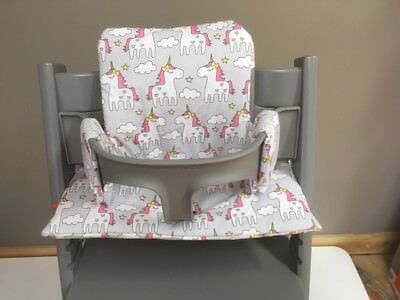 Cushion to fit Stokke Tripp Trapp High Chair Unicorn BNIB