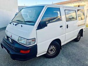 2000 Mitsubishi Express SJ SWB White 4 Speed Automatic Van Beckenham Gosnells Area Preview