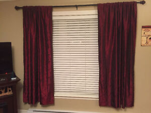 Beautiful curtains for sale!