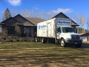 NEED RELOCATION AND MOVING ASSISTANCE? TRUST T-BAY MOVERS™