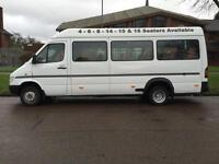 Mercedes-Benz SPRINTER 410 D LWB MINIBUS TWIN WHEELS