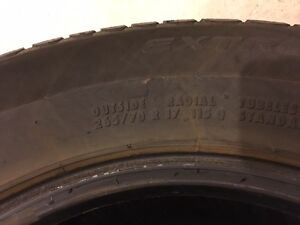 Set of 4 used Continental Extreme Winter Contact tires St. John's Newfoundland image 3
