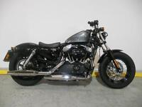 "Harley-Davidson XL 1200 X FORTY EIGHT 15 ""64 Plate"" Immaculate Bike"