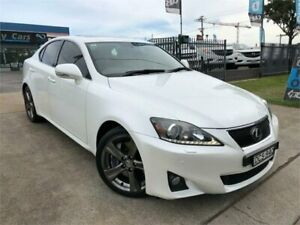 2010 Lexus IS350 GSE21R Sports Luxury White Sports Automatic Sedan Mulgrave Hawkesbury Area Preview