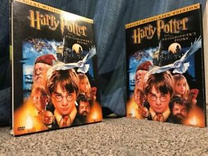 Harry Potter and the Philosophers Stone dual DVD - only $10