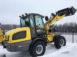 NEW WACKER NEUSON WL60-LOADER ,CAB,AC,HIGH FLOW -DISCOUNTED UNIT