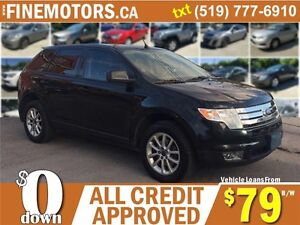 2010 FORD EDGE SEL AWD * LEATHER * HEATED SEATS * POWER ROOF