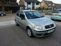 54-Reg, Fiat Punto 1.2cc, Only 33,000 Miles, 1 Lady Owner, Low Mileage,