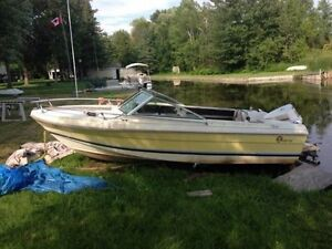 17' Doral with 90 hp 4V Johnson Kawartha Lakes Peterborough Area image 1