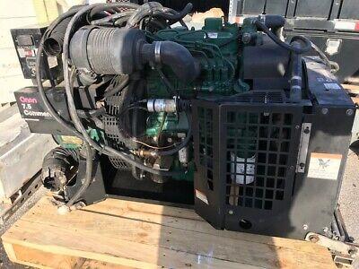 Onan Quiet Diesel 7500 Rv Power Generator Kubota Diesel Engine 7.5 Commercial