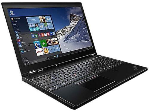 "Lenovo ThinkPad P51 20HH000WUS 15.6"" LCD Mobile Workstation - Intel Core i7 (7th"