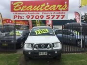 2011 Nissan Navara D40 RX White Manual Utility Yagoona Bankstown Area Preview