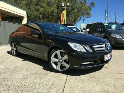 2011 Mercedes-Benz E250 CDI C207 BLUEEFFICIENCY AVANT Black Semi Auto Coupe