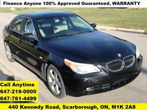 2007 BMW 5 Series 525 Xi AWD FINANCE 100% Guaranteed WARRANTY
