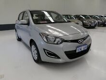 2014 Hyundai i20 PB MY14 Active Silver 4 Speed Automatic Hatchback Welshpool Canning Area Preview