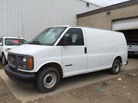 2001 GMC Savana 1500 Cargo Van LOW KM!!!