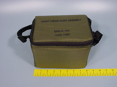 Exelis Night Vision Sight Assembly Od Green Case Cage 13567