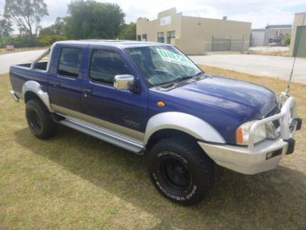 2004 Nissan Navara Ute ** ST-R TURBO DIESEL & 1 YEAR WARRANTY **
