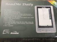 "Binatone 7"" Colour Screen eBook Reader / Music Player"