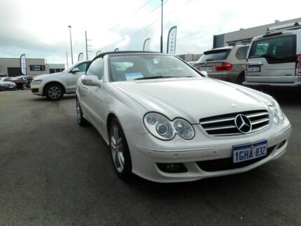 2007 Mercedes-Benz CLK350 C209 MY08 Avantgarde White 7 Speed Sports Automatic Coupe Wangara Wanneroo Area Preview
