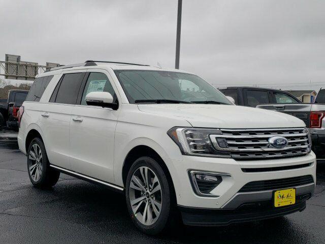 2020 Ford Expedition Limited 6548 Miles Star White Metallic Tri-Coat Sport Utili