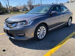 2015 Honda Accord EXL/NO ACCIDENTS/LEATHER/SUNROOF/DRIVER TECH