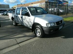 2002 Holden Rodeo TFR9 MY02 LX Silver 5 Speed Manual Crew Cab Pickup Williamstown North Hobsons Bay Area Preview