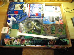 fish tank supplies for sale.