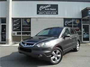 2009 ACURA RDX TURBO SUV TECH PACKAGE**CERTIFIED**