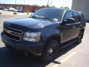 2009 Chevrolet Tahoe blk/blk ex-police accident free