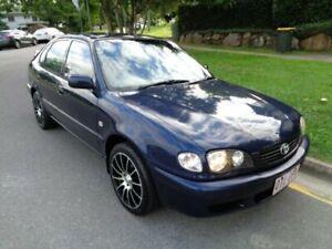 2000 Toyota Corolla AE112R Conquest Seca Blue Metallic 4 Speed Automatic Liftback