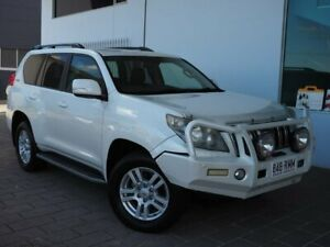 2011 Toyota Landcruiser Prado KDJ150R Kakadu White Sports Automatic Springwood Logan Area Preview