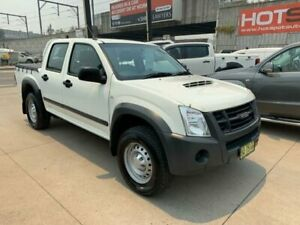 2012 Isuzu D-MAX MY11 SX White 4 Speed Automatic Utility Granville Parramatta Area Preview