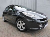 Peugeot 207 1.4 Verve, Black, 5 Door, Excellent Condition, 1 Owner Only, Low Miles, Service History